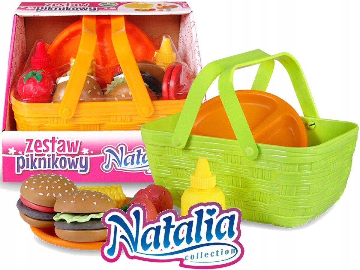 NATALIA Warzywa Owoce KOSZYK Zestaw Piknikowy skle